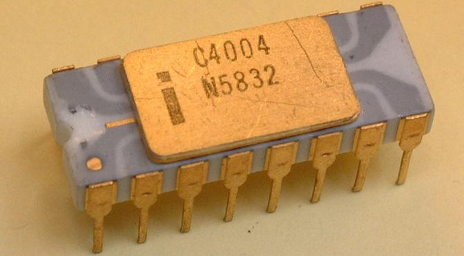 Mikroprocesor Intel 4004 – zapoczątkował rewolucję cyfrową